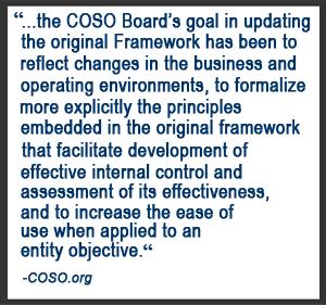 COSO 2013 Change