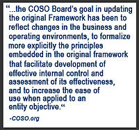 COSO 2013 Change