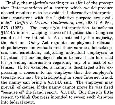Whistleblower Section 806